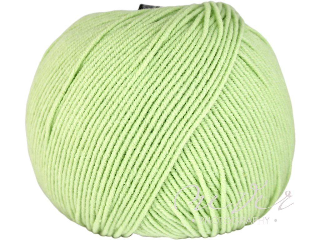 Jeans - Vlna Hep 8158 pastelová zelená