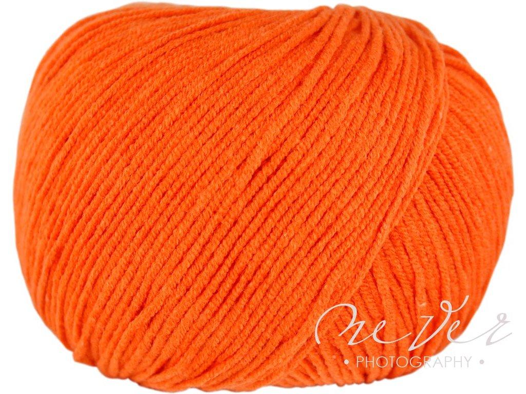 Jeans - Vlna Hep 8194 oranžová