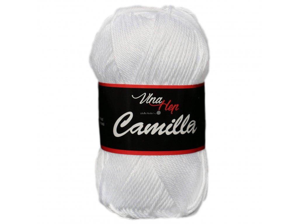 Příze Camilla 8002 bílá
