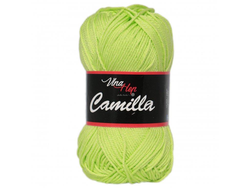 Příze Camilla 8145 zelinkavá