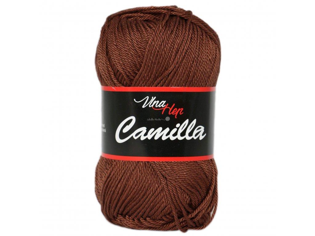 Příze Camilla 8220 hnědá