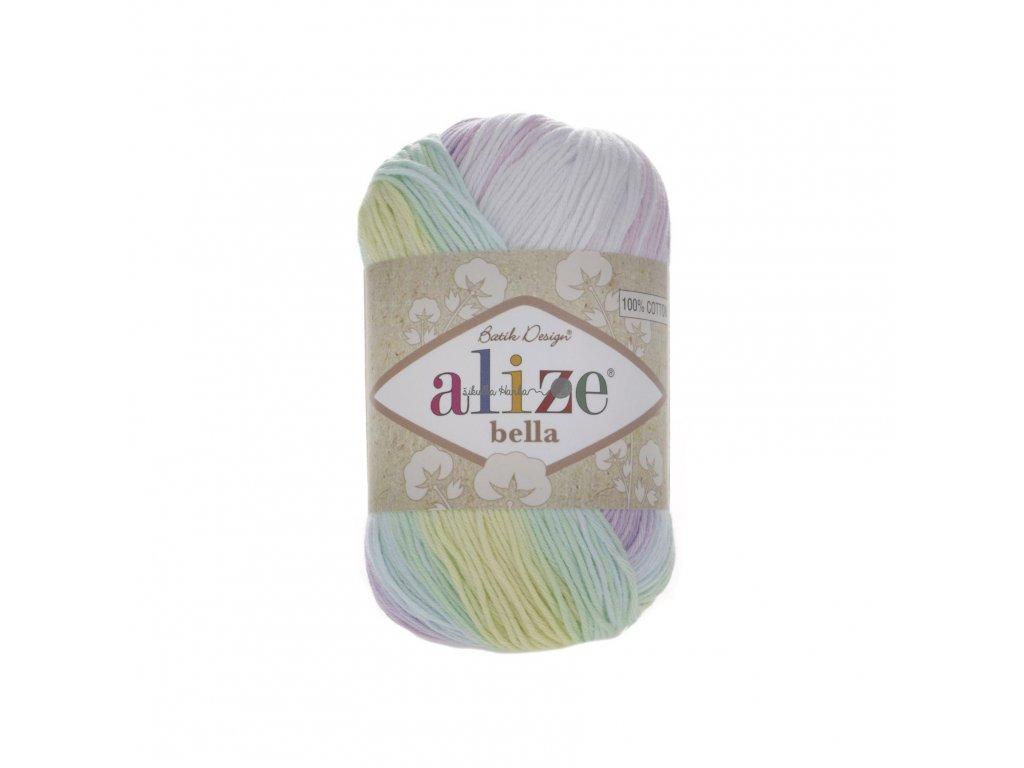 Příze Alize Bella batik 2132 duhová