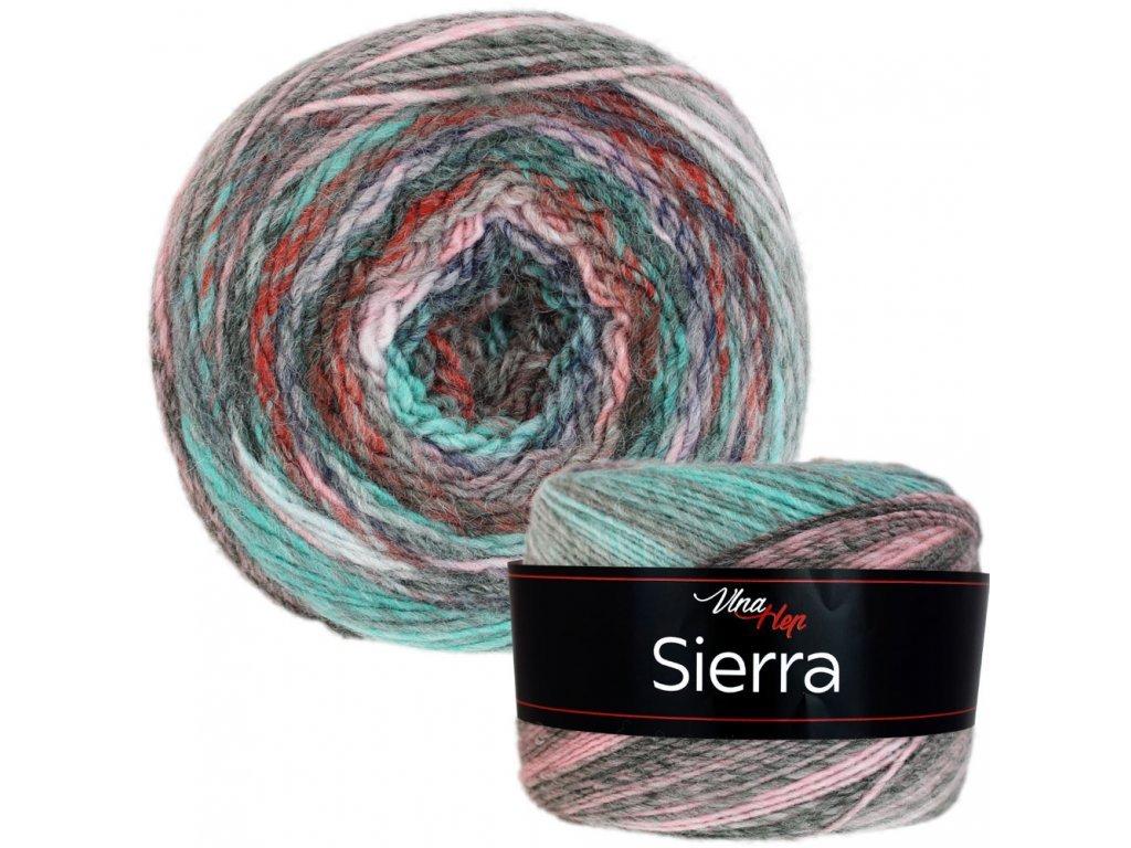 Sierra 7201 růžovo-mintová