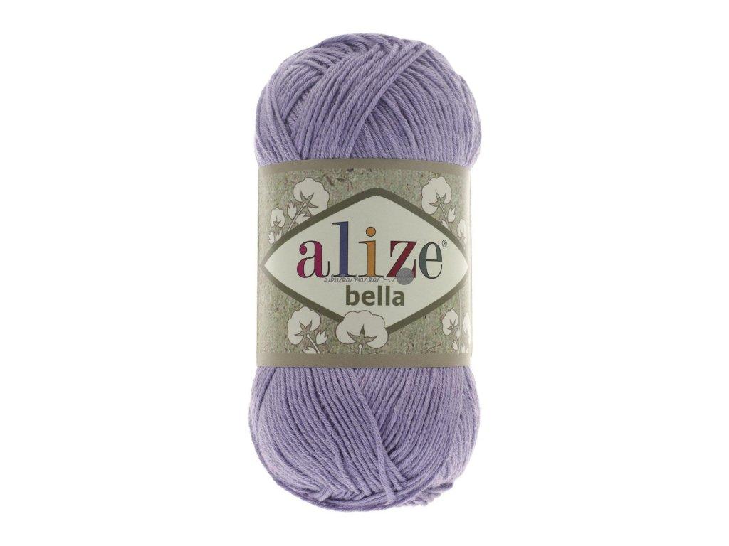 Příze Alize Bella 158 fialová