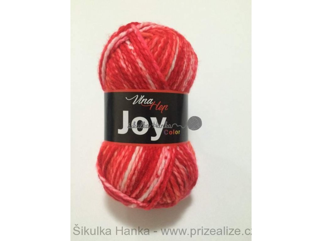 Joy color 5505 červená