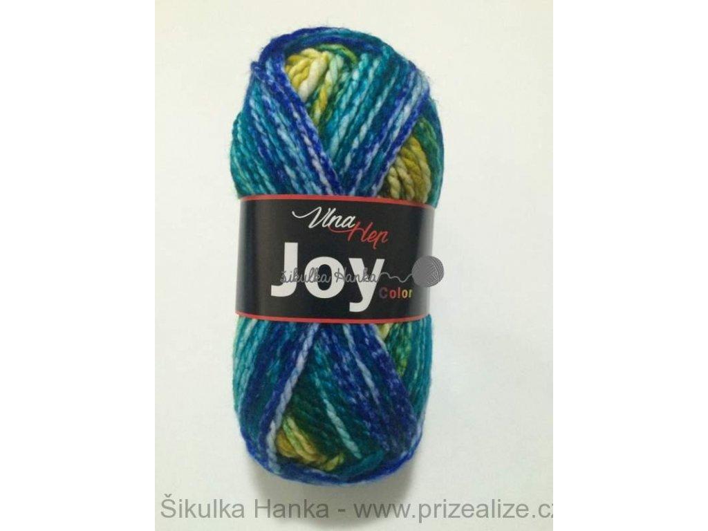 Joy color 5508 modro-žluto-zelená
