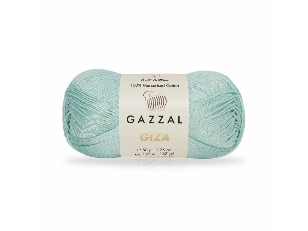 Giza 2482 pastelová aqua