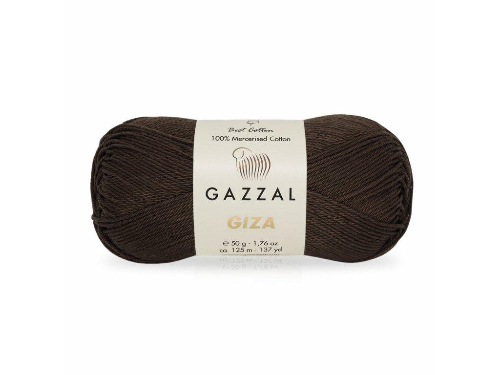 Giza 2486 čokoládová