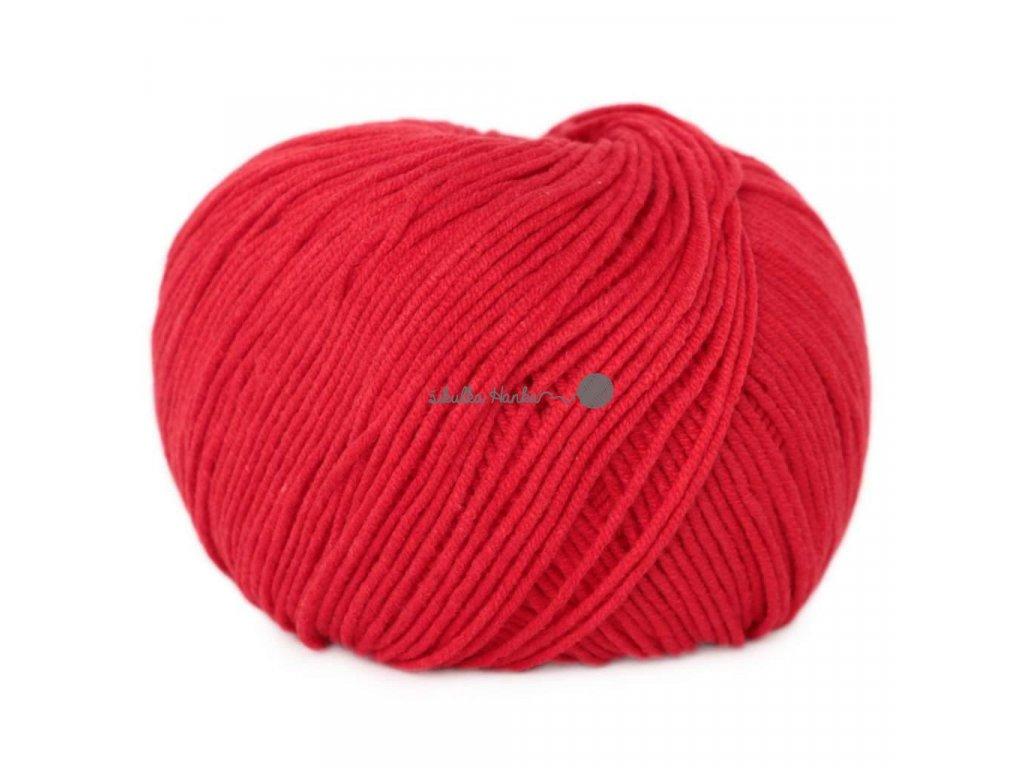 Jeans - Vlna Hep 8008 červená
