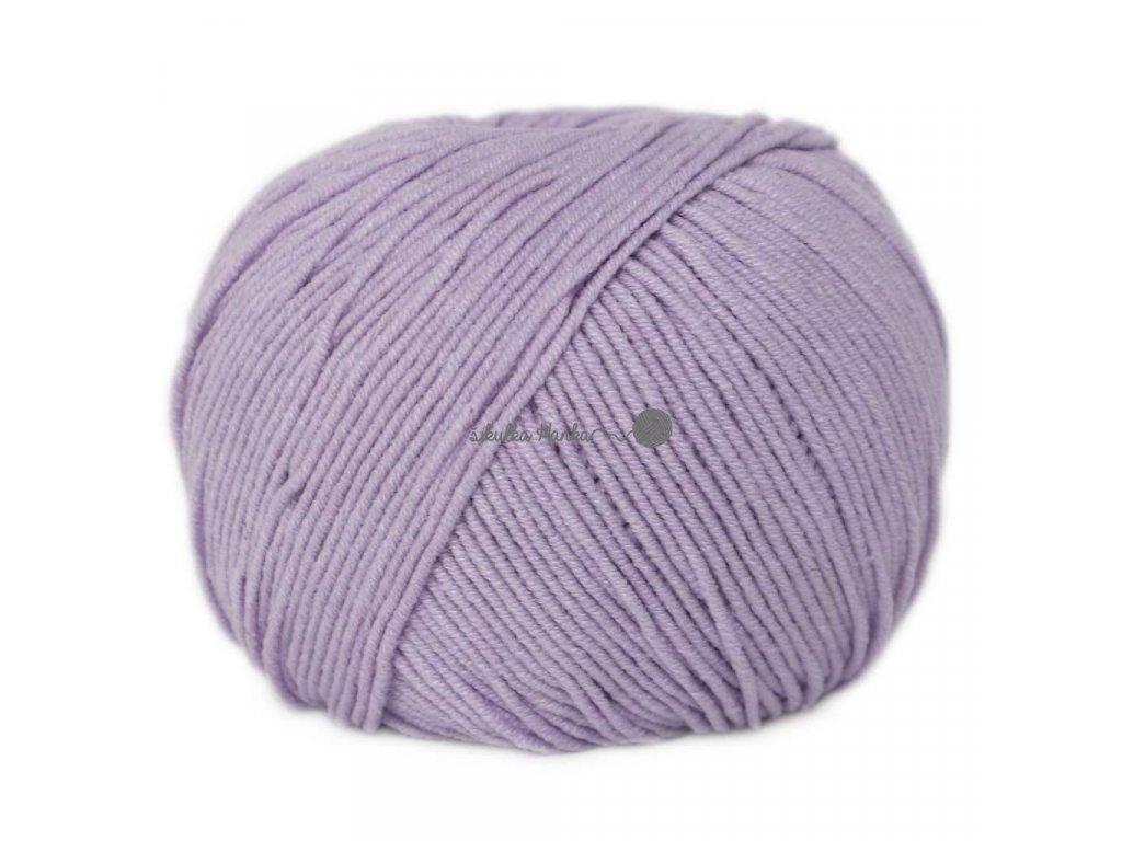 Jeans - Vlna Hep 8066 sv.fialová