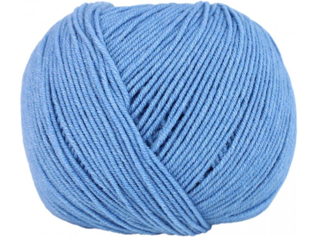 Jeans - Vlna Hep 8094 modrá