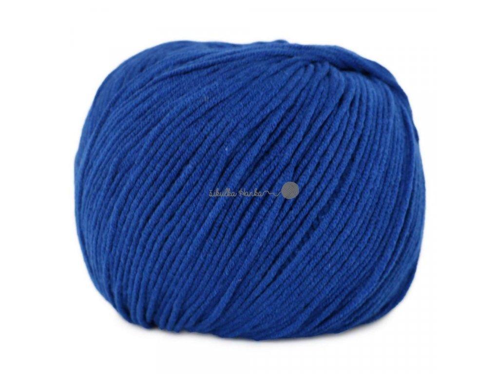 Jeans - Vlna Hep 8112 královská modrá