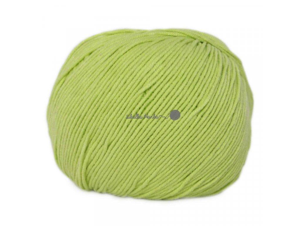 Jeans - Vlna Hep 8145 sv.zelená