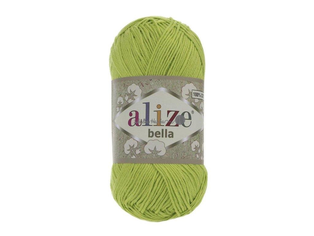 Příze Alize Bella 612 jarní zelená