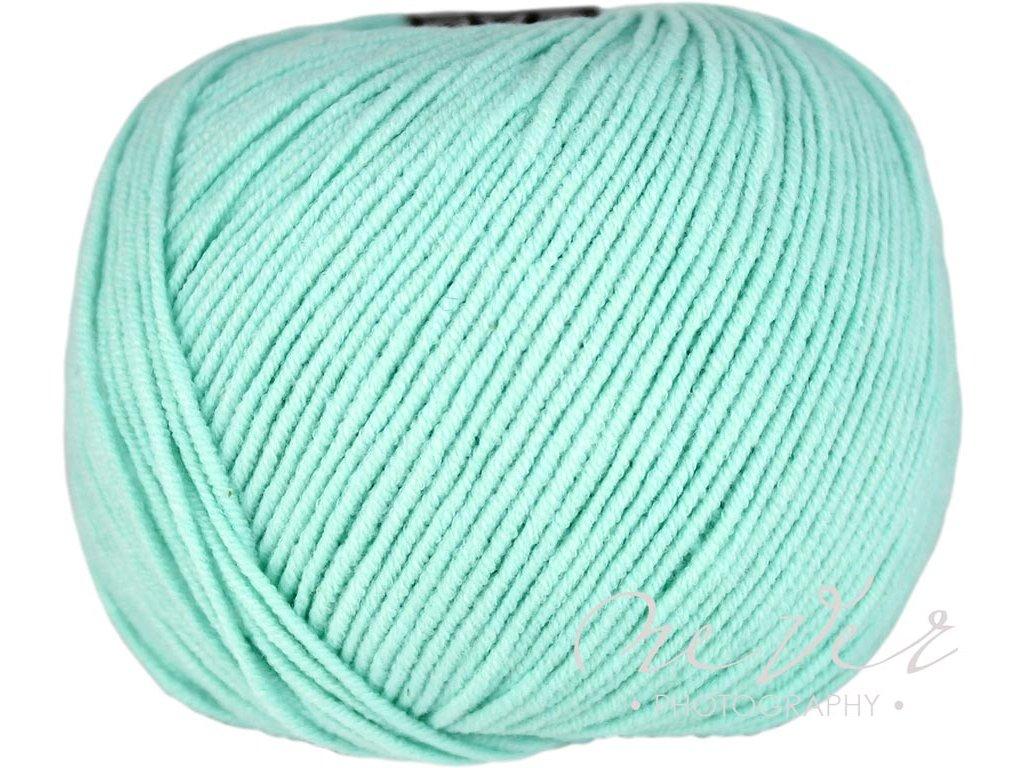 Jeans - Vlna Hep 8136 pastelová modrá