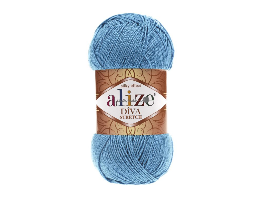 Alize Diva stretch 245 tyrkysová