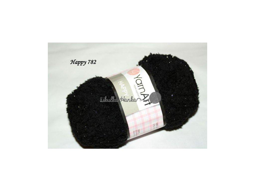 Příze Yarn Art Happy 782 černá