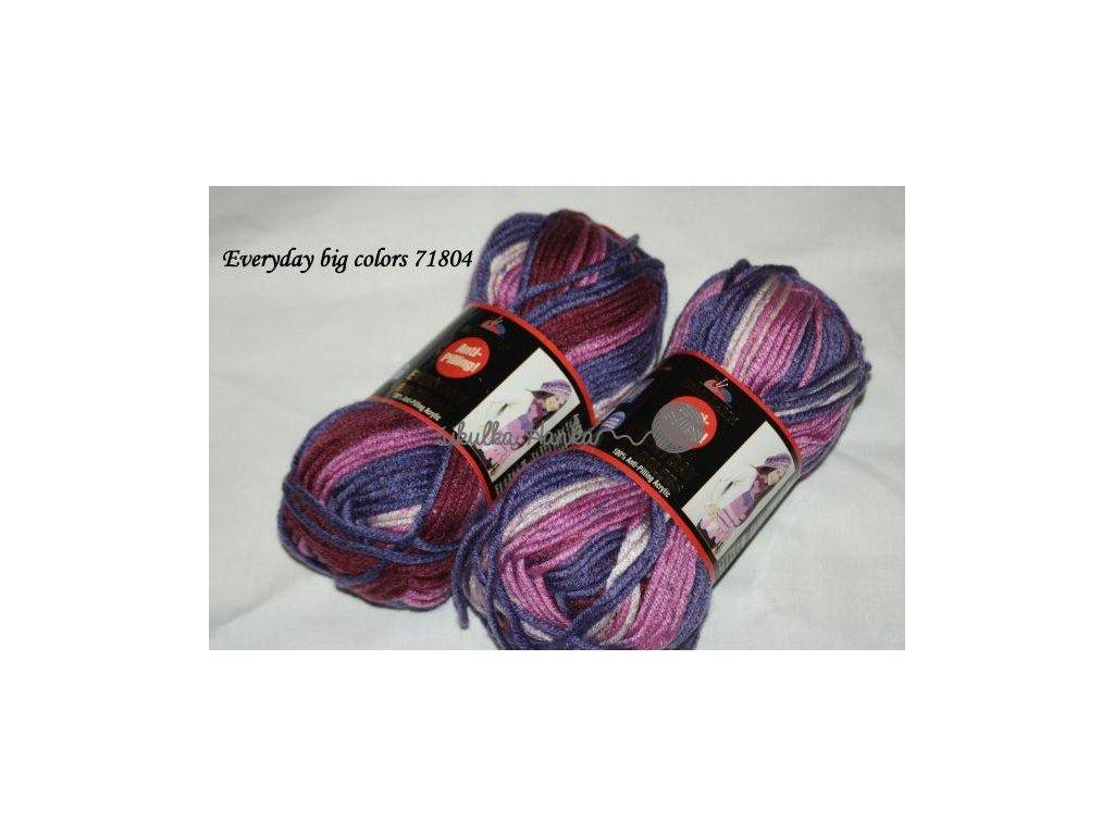 Příze Himalaya Everyday big colors 71804 fialová