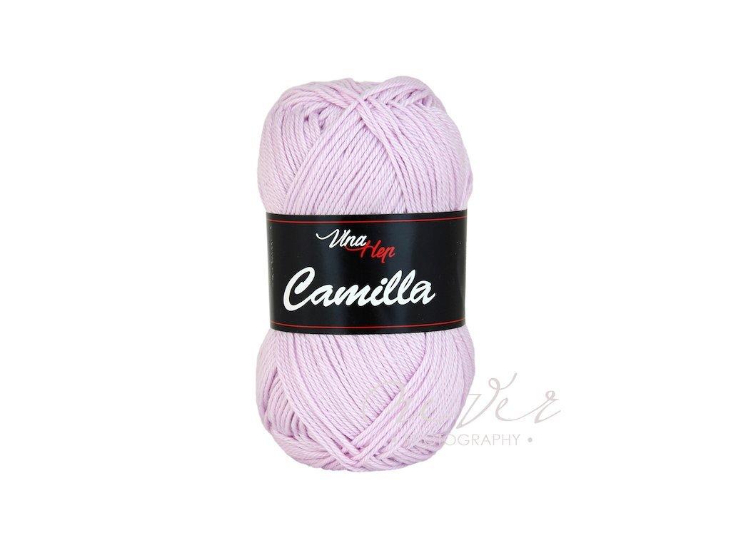 Příze Camilla 8050 světlounká fialová