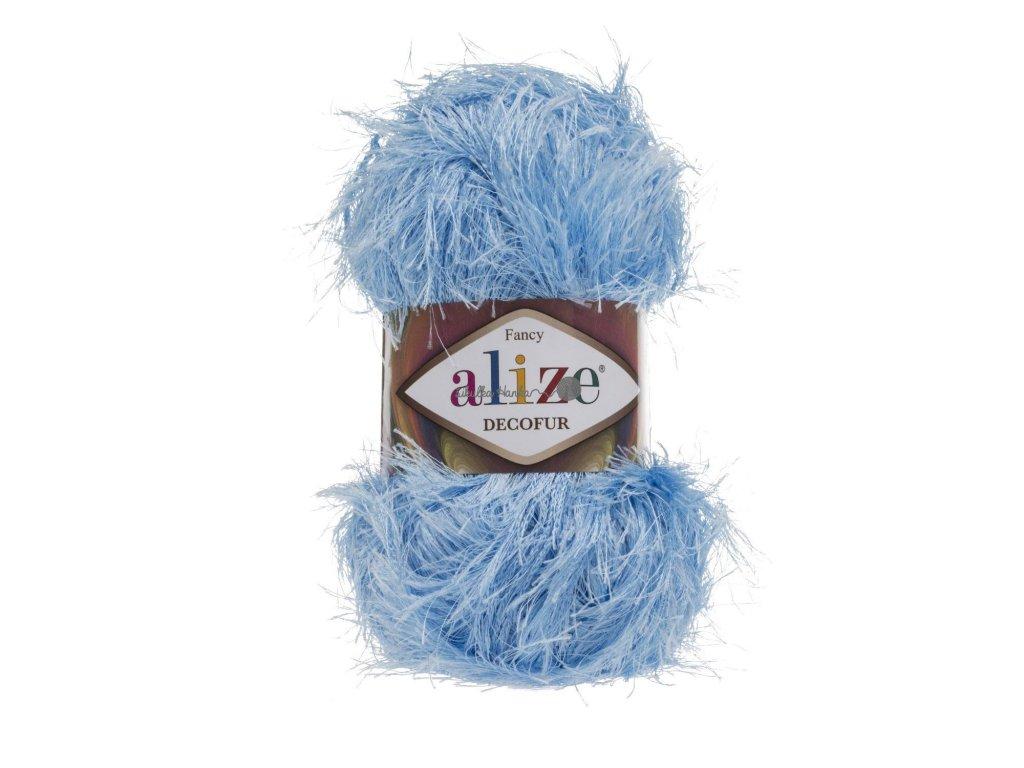 Alize Decofur 40 sv.modrá