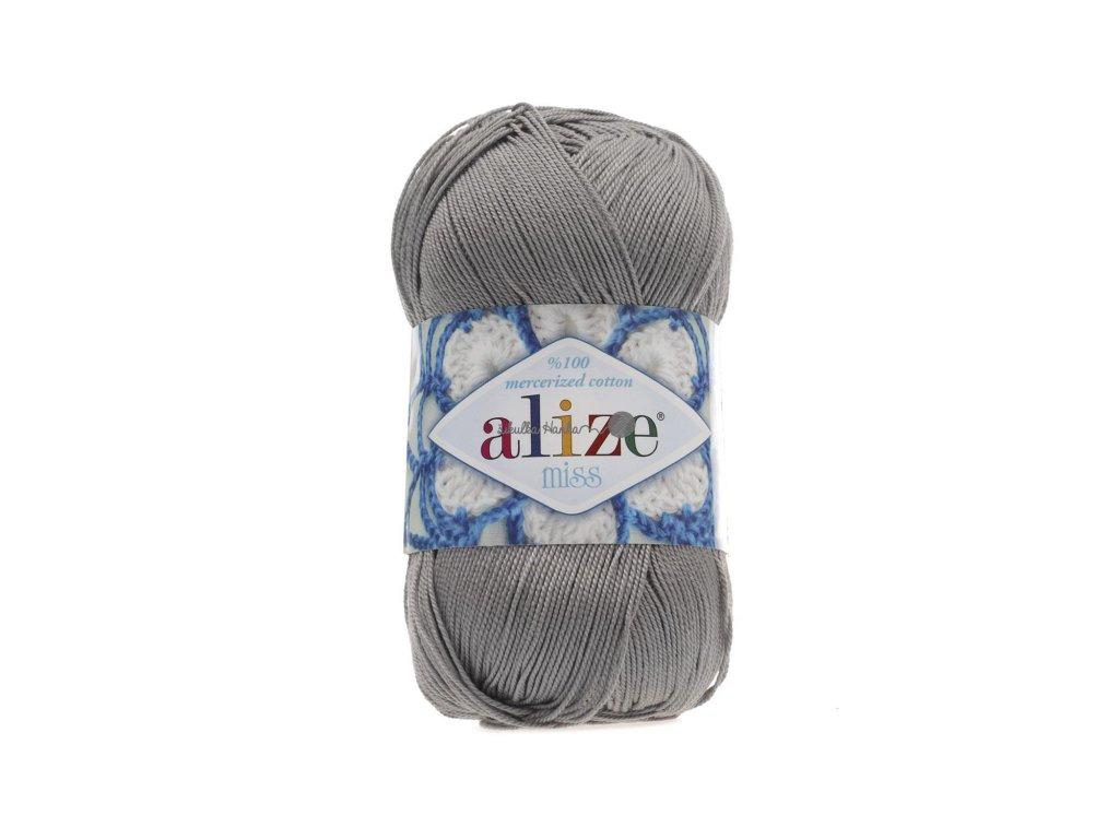 Alize Miss 496 středně šedá