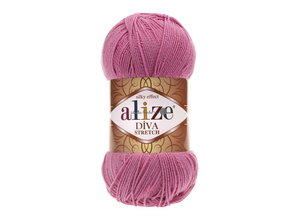 Alize Diva stretch 178 růžová