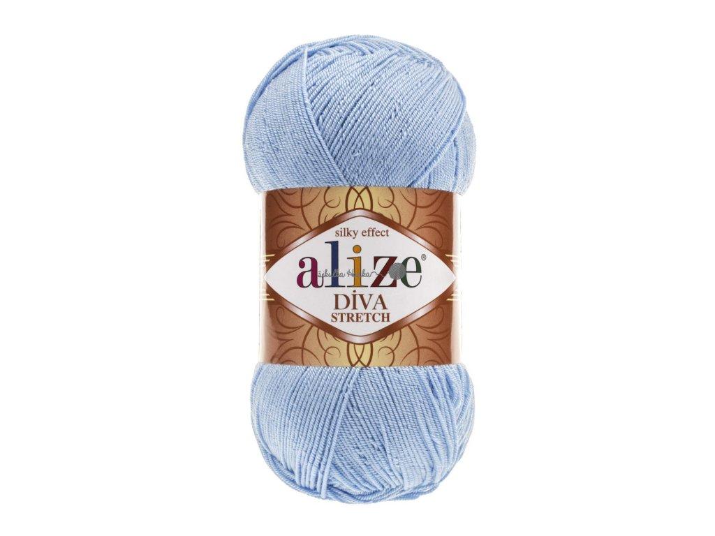 Alize Diva stretch 350 sv.modrá