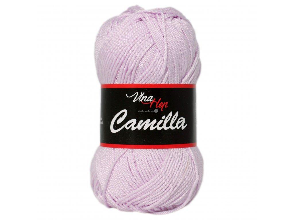 Příze Camilla 8051 světlounká fialová