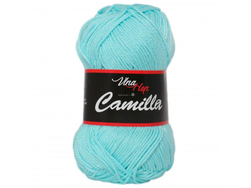 Příze Camilla 8122 modrá pastelová