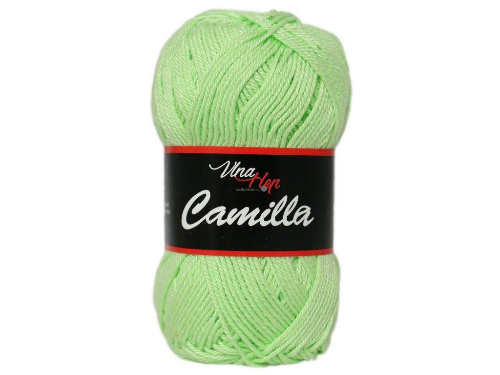 Příze Camilla 8158 zelená pastelová