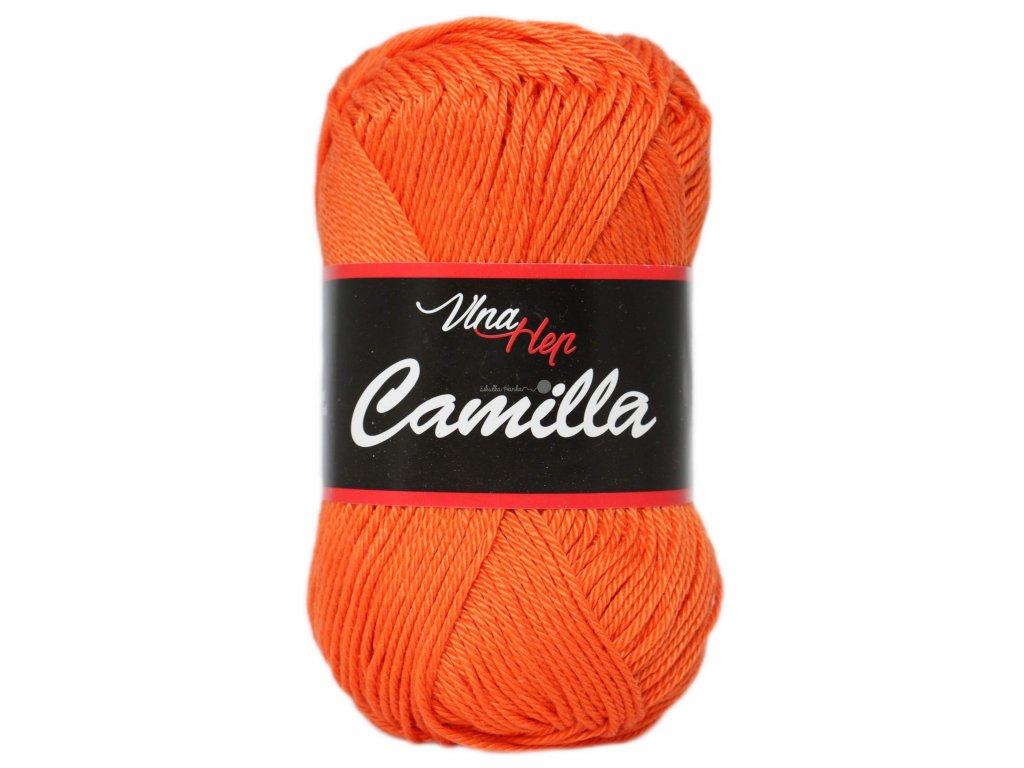 Příze Camilla 8194 oranžová