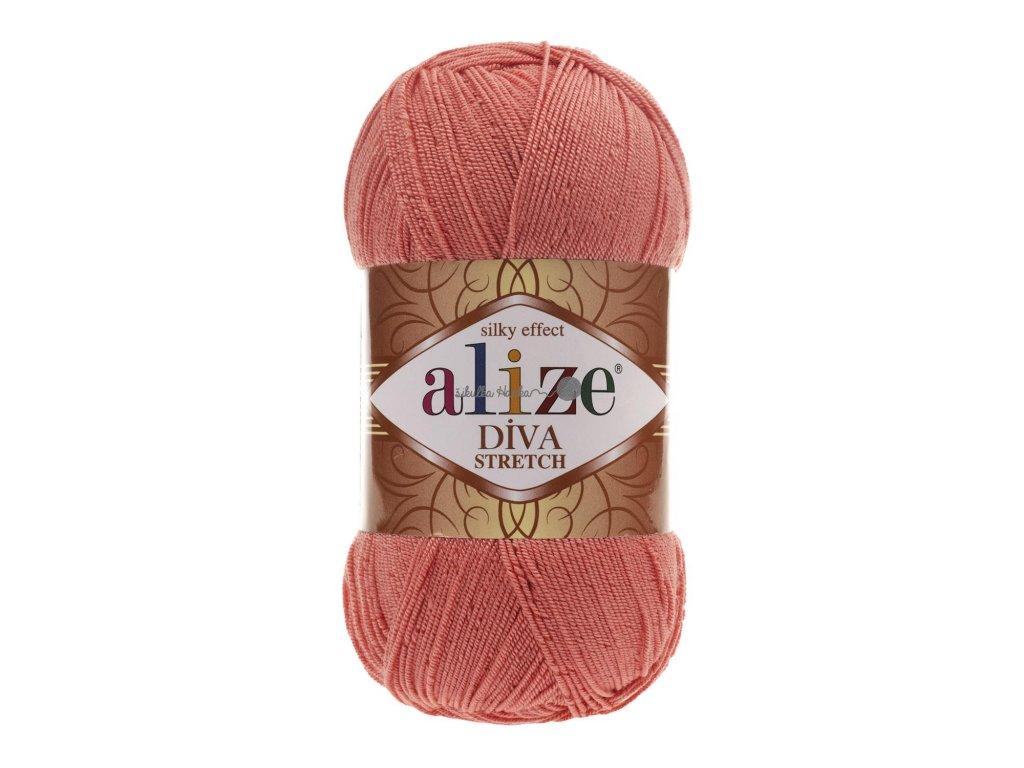 Alize Diva stretch 619 korálová