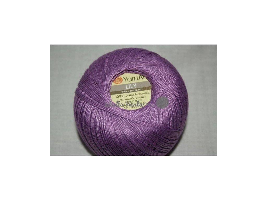 Příze Yarn Art Lily 6309 fialová