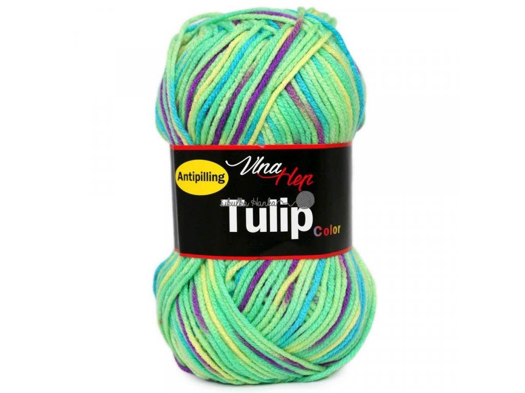 Tulip color 5602 zeleno-barevná