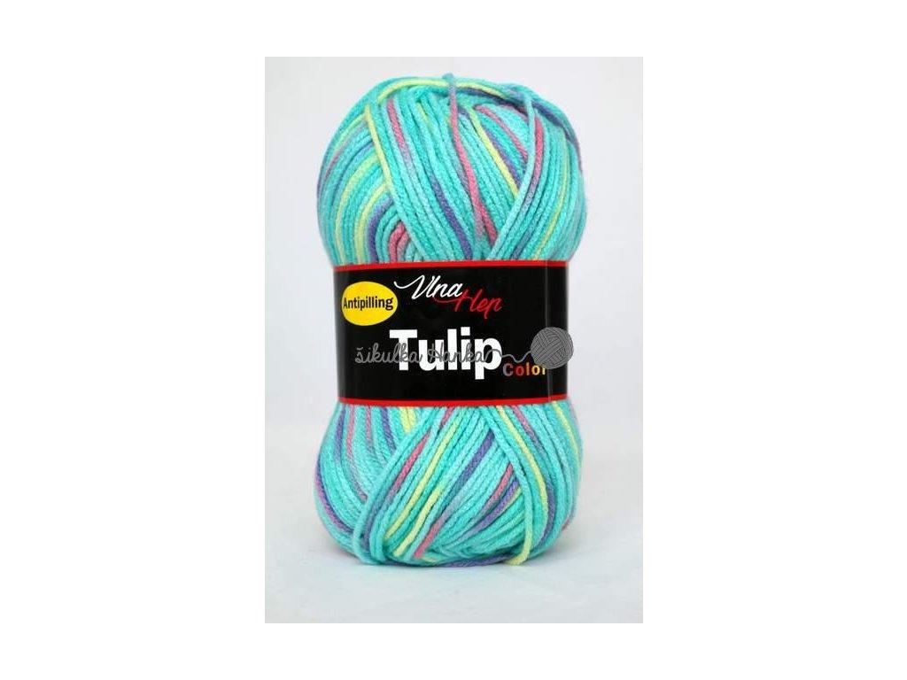 Tulip color 5605 tyrkysovo-barevná