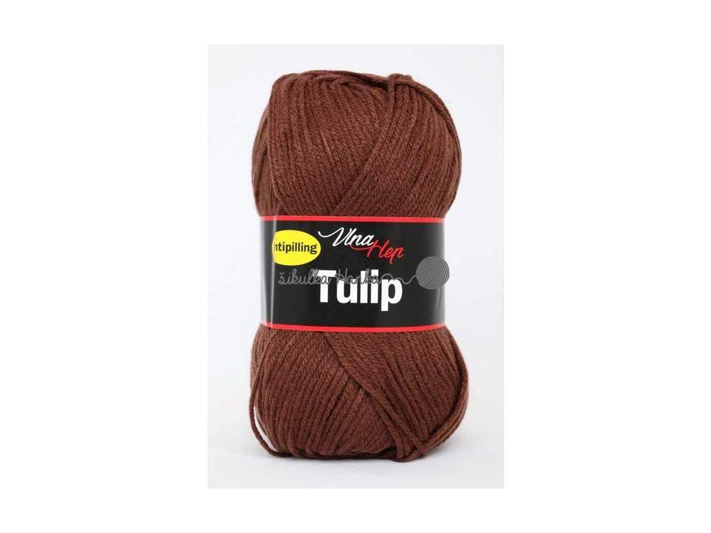 Příze Tulip 4220 hnědá