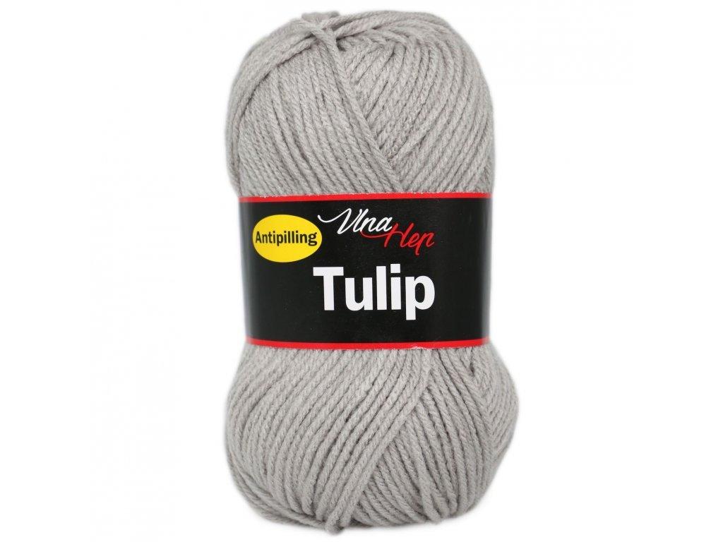 Příze Tulip 4231 šedá
