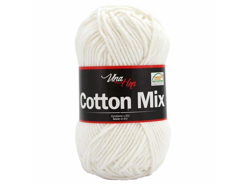 Cotton mix 8002 bílá