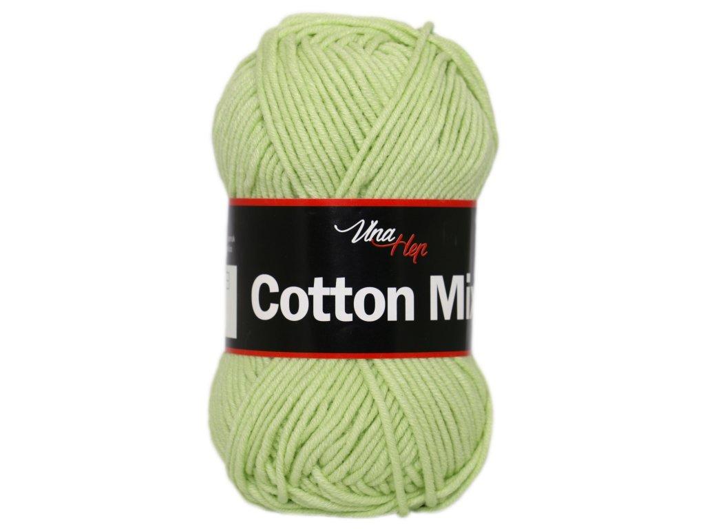 Cotton mix 8158 pastelová zelená