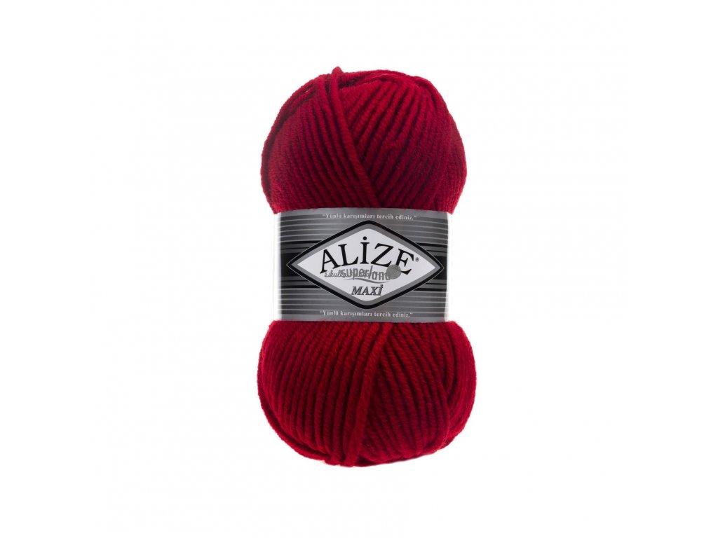 Superlana maxi 56 červená
