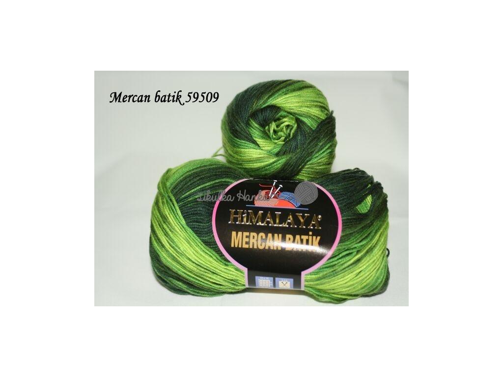 Mercan batik 59509 zelená