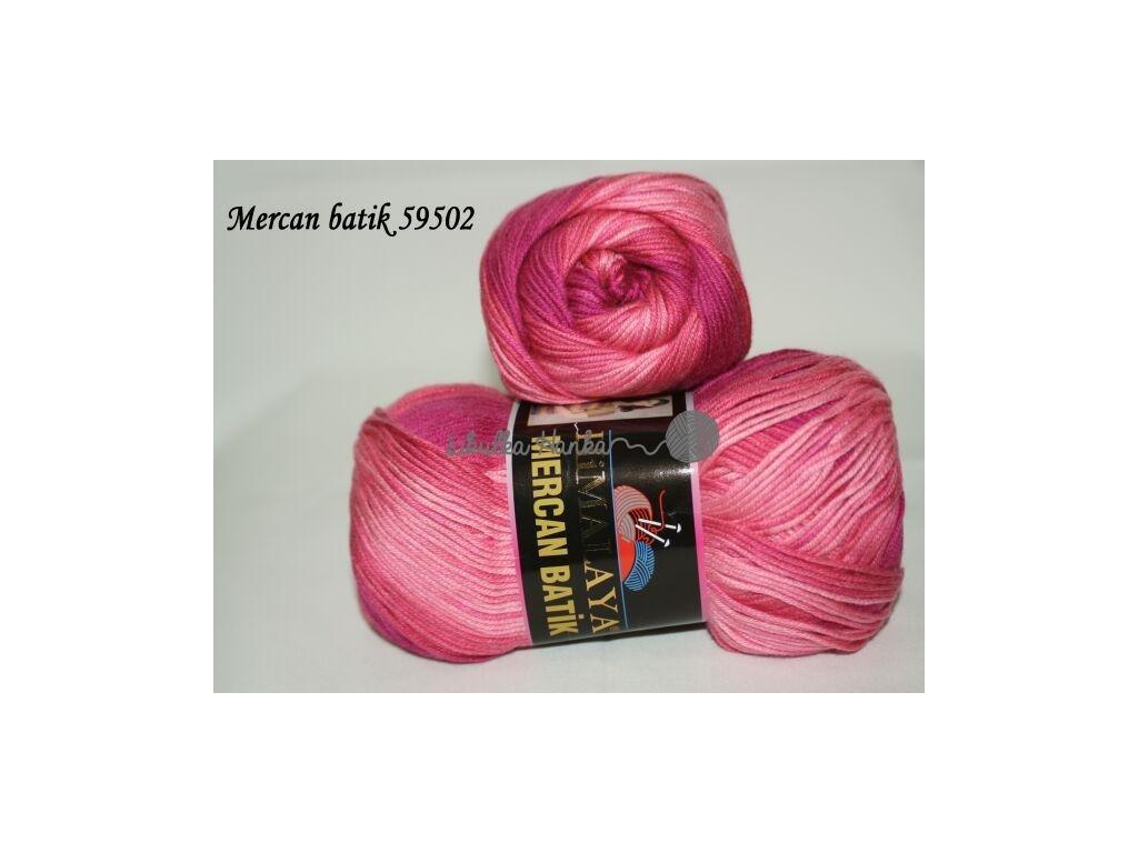 Mercan batik 59502 tm.růžová