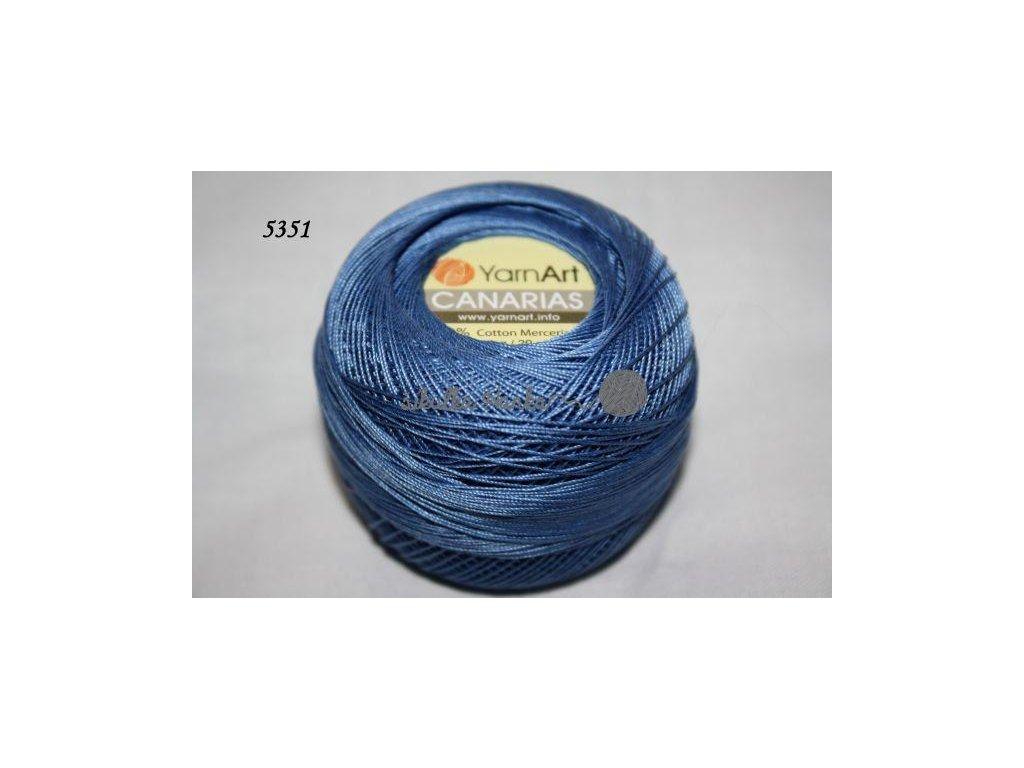 Příze Canarias 5351 modro-šeedá