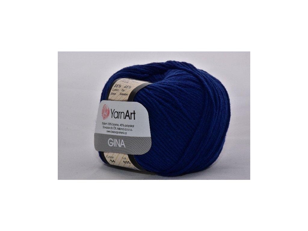Gina 54 tmavě modrá