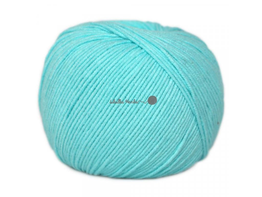 Jeans - Vlna Hep 8122 pastelová modrá