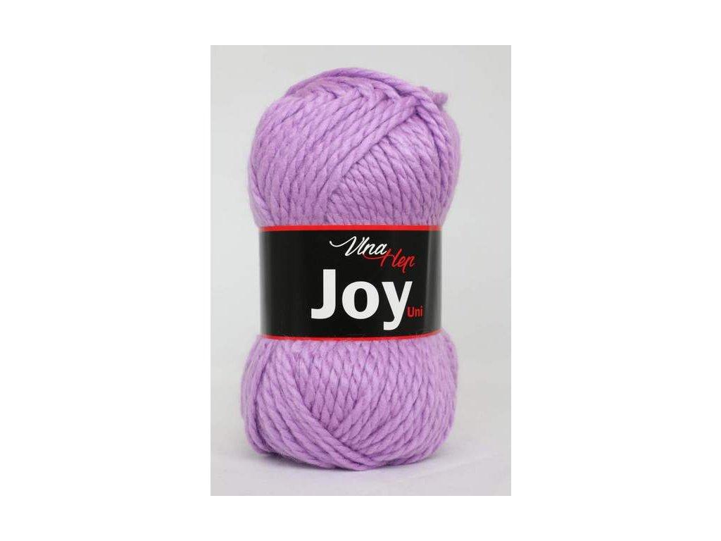 Příze Joy uni 4055 sv. fialová