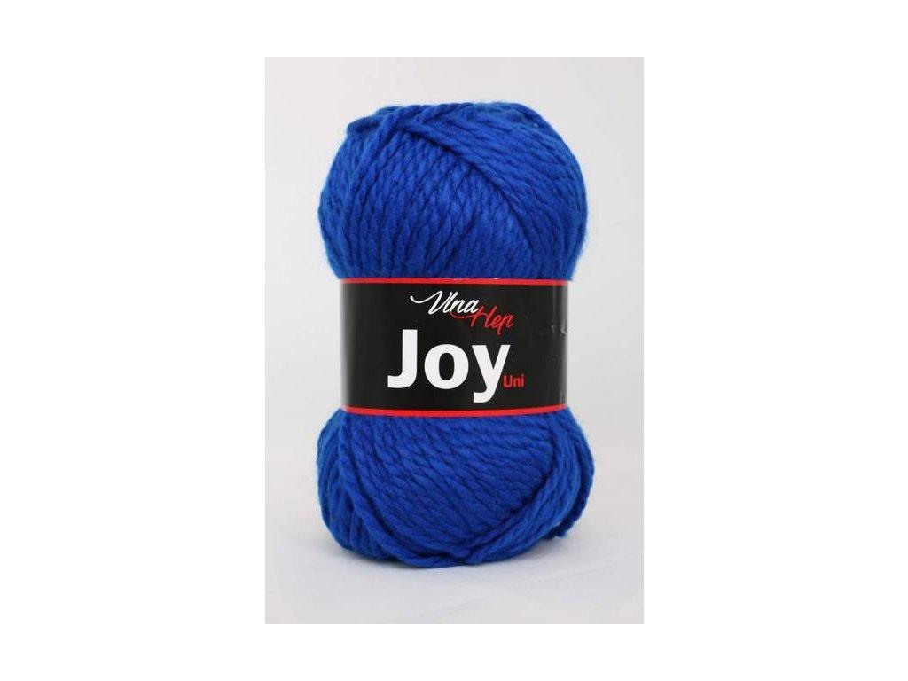 Příze Joy uni 4109 královská modrá