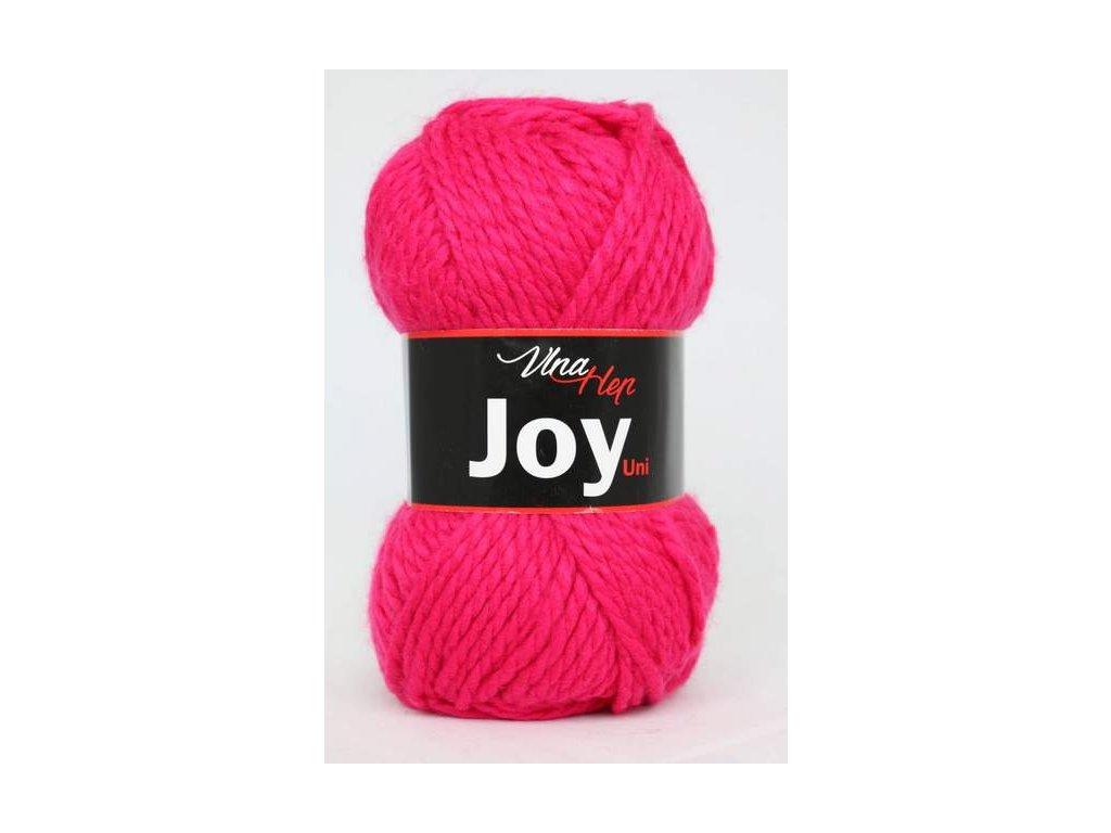 Příze Joy uni 4305 zářová růžová