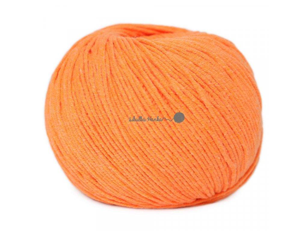 Jeans - Vlna Hep 8301 oranžová neonová