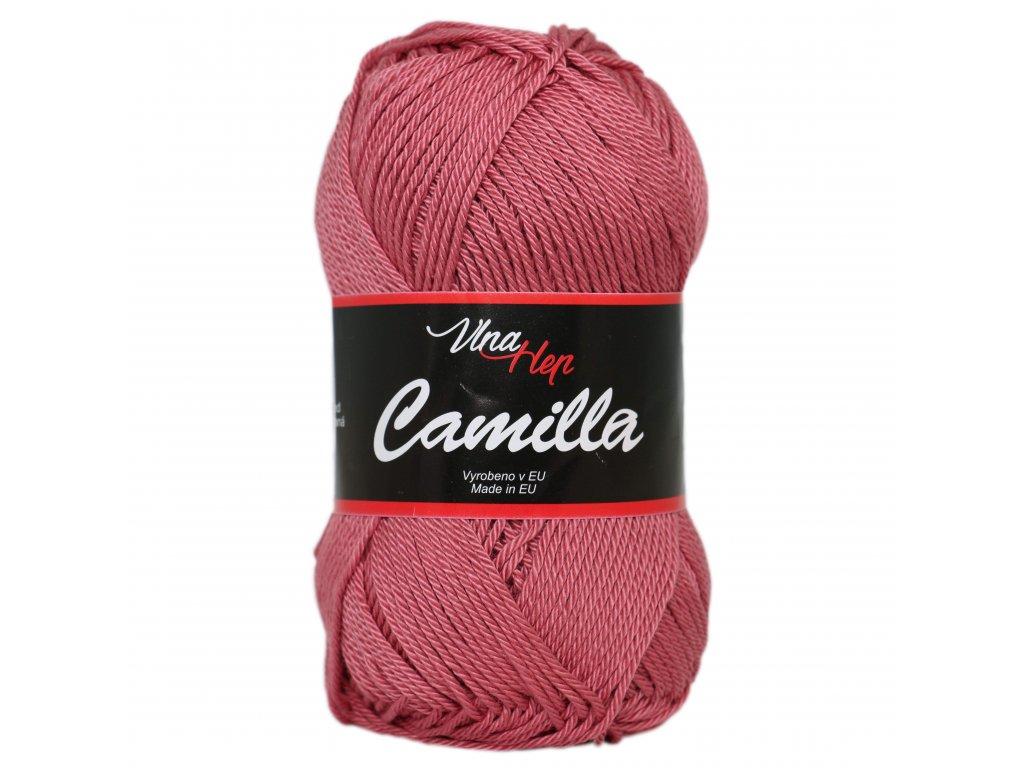 Příze Camilla 8029 tm.starorůžová